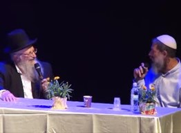 התוועדות כנס תשעט הרב שמואל אליהו הרב איל יעקבוביץ ולהקת הלב והמעין