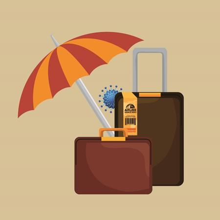 על מטריה, מזוודה וקורונה